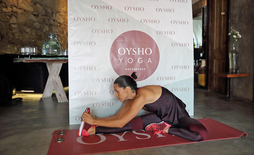 Evento  Master Class Yoga de Oysho  cc885a09416a