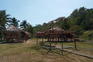 Por lo general, las casas de tambo pueden durar entre 7 a 10 años y son construidas con Wagaras (hojas de palma) o Nawalas para techo. Foto: Cortesía.