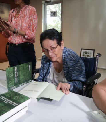 Mireya Correa, científica y coautora del libro. Foto: Cortesía
