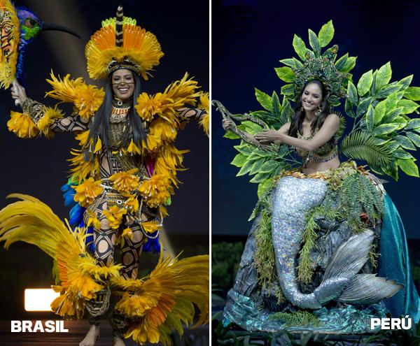 Miss Universo 2018 El Traje Típico De Rosa Iveth Y Los Atuendos Más